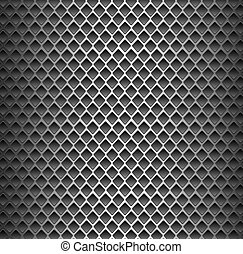 Seamless texture background - black metal surface square...