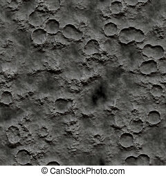 Seamless Texture crater surface pattern