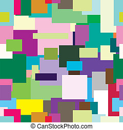 Seamless texture in the form of a mosaic