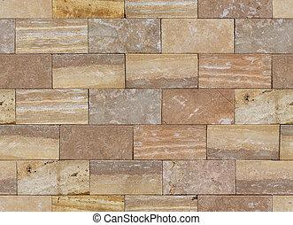 seamless texture of block laying wall