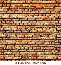 Seamless texture of brick wall