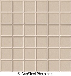 Seamless texture of cardboard