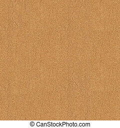 seamless texture of cork board, square texture