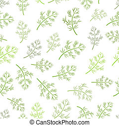 seamless texture of dill