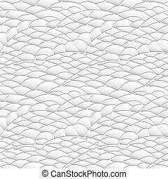Seamless texture of natural hills made of paper