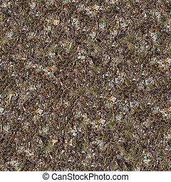 Seamless Texture of Rocky Soil.