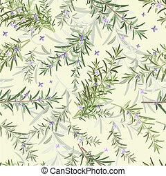 seamless texture of rosemary