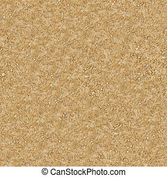 Seamless Texture of Sandstone Country Road. - Seamless...