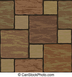 Seamless texture of stonewall tile