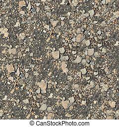 Seamless Texture of Stony Soil.