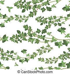 seamless texture of thyme