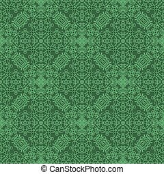 Seamless Texture on Green. Element for Design