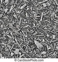 Seamless texture - Slag and ash on earth