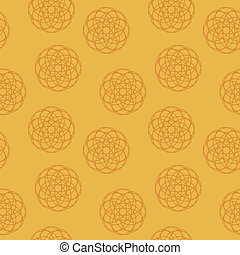 Seamless texture with  ornament