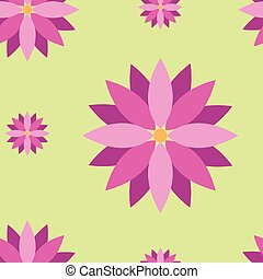 Seamless texture with purple flowers