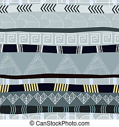 Seamless texture with traditional African pattern