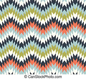 Seamless texture with zigzags. - Seamless texture pattern...