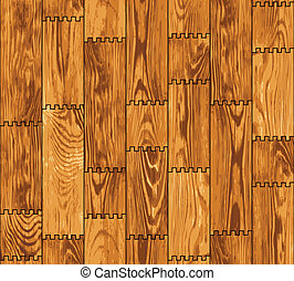 Seamless texture - wooden boards wall - Seamless texture - a...