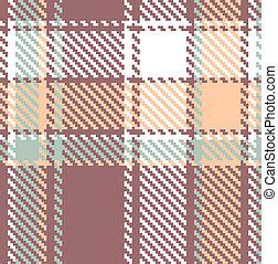 seamless, textured, tartan, xadrez, vetorial, padrão