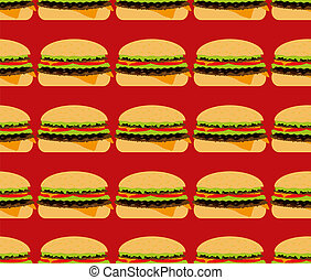 seamless textures, hamburger