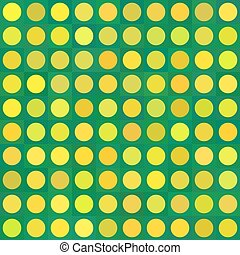 Seamless three color girls polka dot pattern