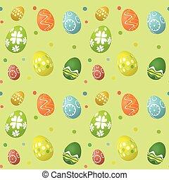 seamless tile Easter egg background