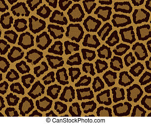 Seamless tile leopard fur background - Seamless tile...