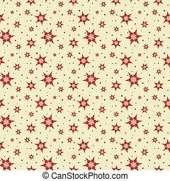 Seamless tile Snowflake background