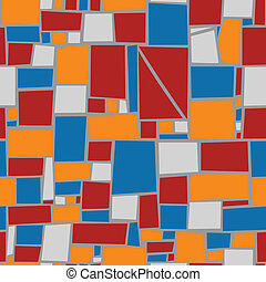 Seamless tile vector background.