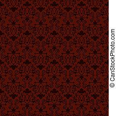 Seamless tiling antique pattern