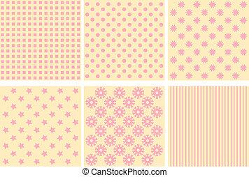 Seamless tiling textures