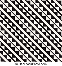 Seamless tracery pattern. Repeated stylized lattice. Symmetric geometric wallpaper. Trellis ethnic motif. Vector illustration