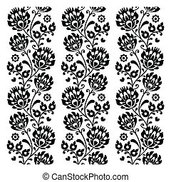 Seamless traditional folk polish - Repetitive print, folk...