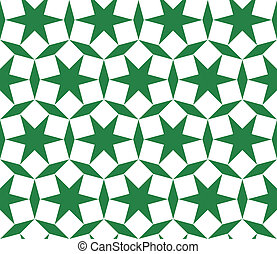 Seamless traditional geometrical islamic ornament - girih,vector pattern