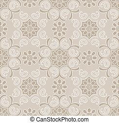Seamless traditional golden wallpaper