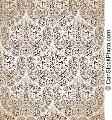 Seamless traditional wallpaper - Seamless traditional...