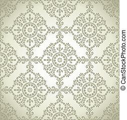 Seamless traditional wallpaper