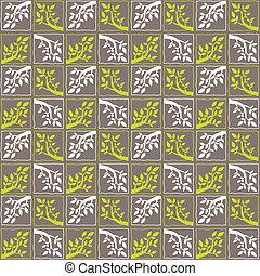 Seamless Tree Branch Pattern