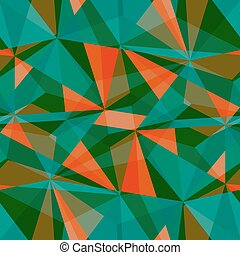 Seamless triangle pattern. Vector background. Geometric abstract texture