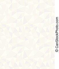 Seamless Triangular Pattern Background Of Merging Circles