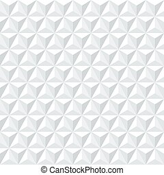 Seamless triangular stucco plaster mouiding pattern texture background