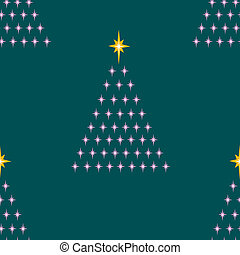 Seamless Twinkly Trees