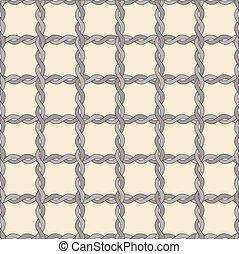 Seamless Twisted rope pattern