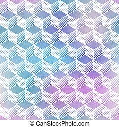 seamless, ukośnik, akwarela, pattern.