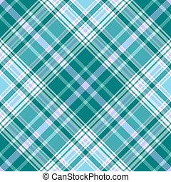 seamless, vívido, azul, configuración diagonal