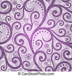 seamless, valentinbrev, mönster, violett