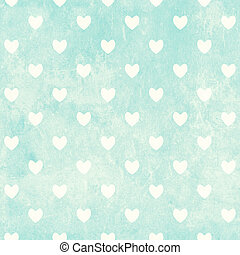Seamless Valentine background with hearts and paper texture