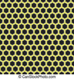 Seamless vector abstract honeycomb pattern background