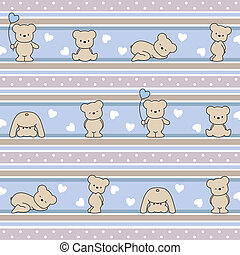 pattern with bears