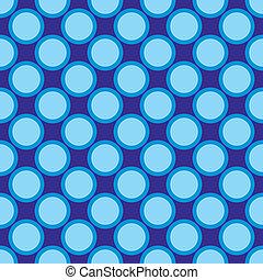 Seamless vector blue dots pattern